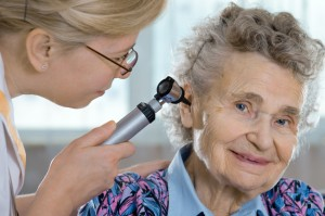 Onset adult hearing loss