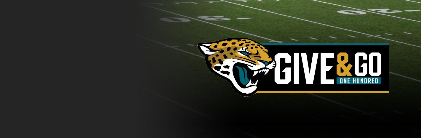 Jaguars Give & Go 100