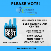 Bold City Best - Vote for Jacksonville Speech & Hearing Center