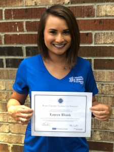 Lauren Blunk - IBCCES Certification